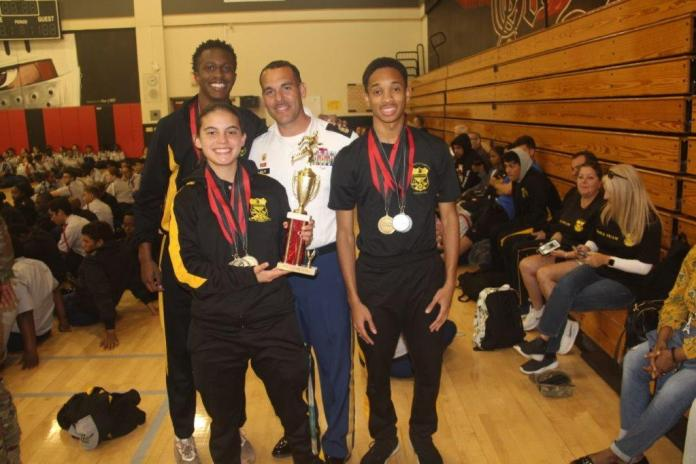 Hollywood Hills High Leadership Academy earns second place overall at drill meet