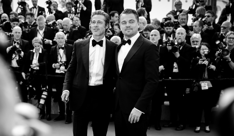 Leonardo DiCaprio & Brad Pitt at Cannes Film Festival Premiere of Quentin Tarantino's Once Upon A Time In Hollywood
