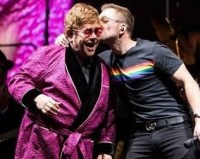 Watch: Surprise Duet From Elton John & <em>Rocketman's</em> Taron Egerton On Stage At Elton's Farewell Tour In UK