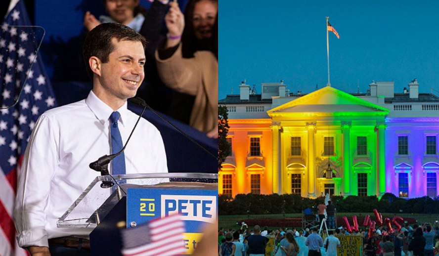 Hollywood Insider Acceptance and celebration of an LGBTQ Gay Lesbian President and President Pete Buttigieg Mayor