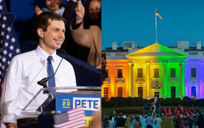 """WATCH: Would A President's Sexuality Matter To You? A Lesbian, Gay, LGBTQ President? Pete Buttigieg? – Hollywood Insider's """"Messages From America"""" – Episode 3"""