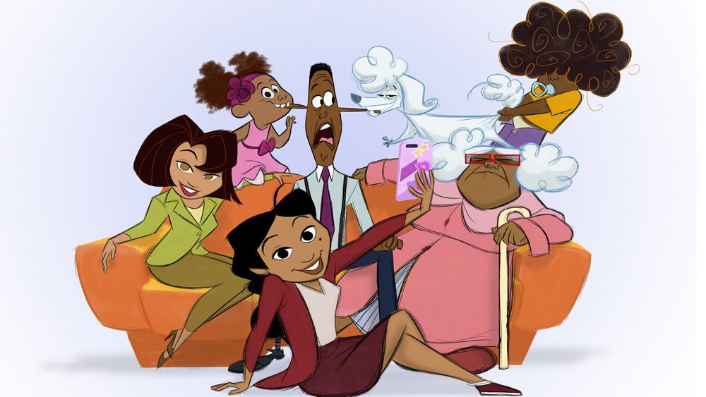 Hollywood Insider Disney+ The Proud Family Comeback Show Series