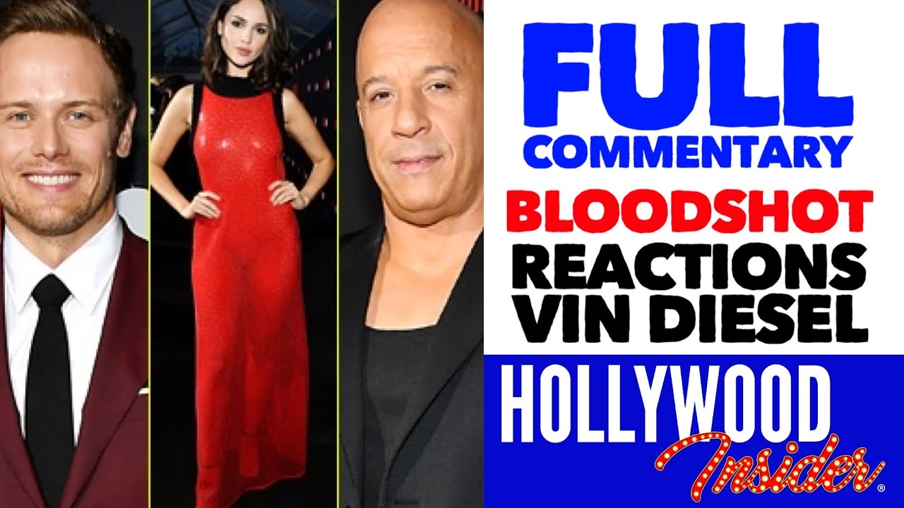 Hollywood Insider Video Series Bloodshot Premiere, Vin Diesel