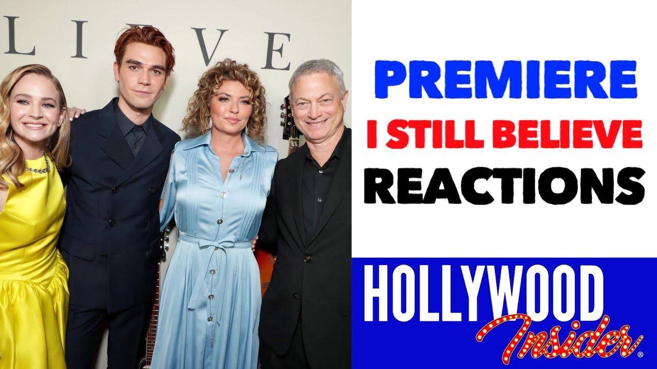 Hollywood Insider Video Series I Still Believe Premiere, Reactions, KJ APA