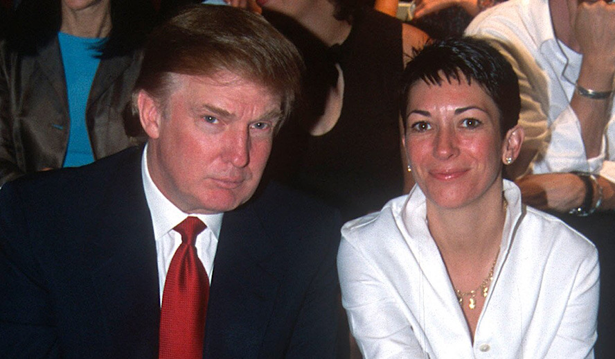 Hollywood Insider, Donald Trump and Ghislaine Maxwell, Jeffrey Epstein
