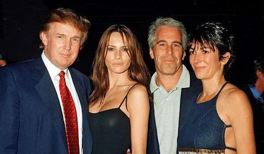 Hollywood Insider Netflix Jeffrey Epstein Filthy Rich, Ghislaine Maxwell and their close friends USA President Donald Trump, Melania Trump
