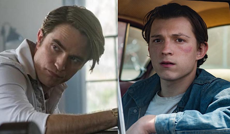 Hollywood Insider Netflix, The Devil All the Time, Robert Pattinson, Tom Holland, Sebastian Stan
