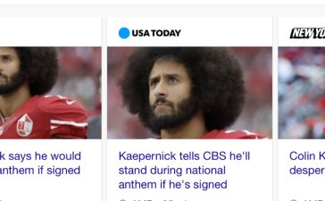 Kaepernick return to NFL