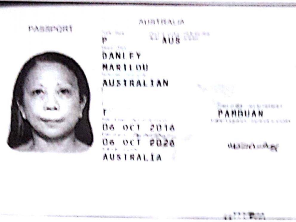 Marilou Danley Australian passport