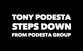 Tony Podesta Steps Down
