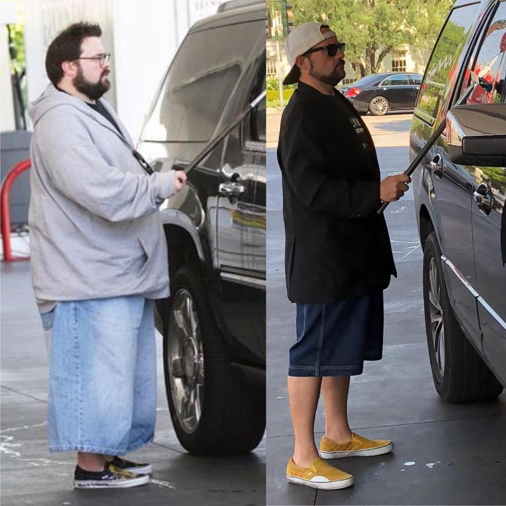 Kevin Smith loses pounds