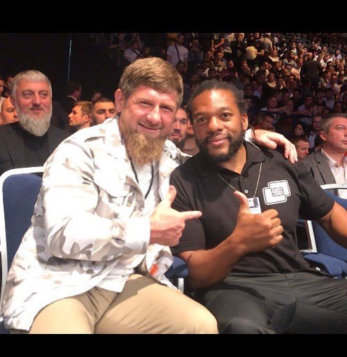 Herb Dean with Kadyrov