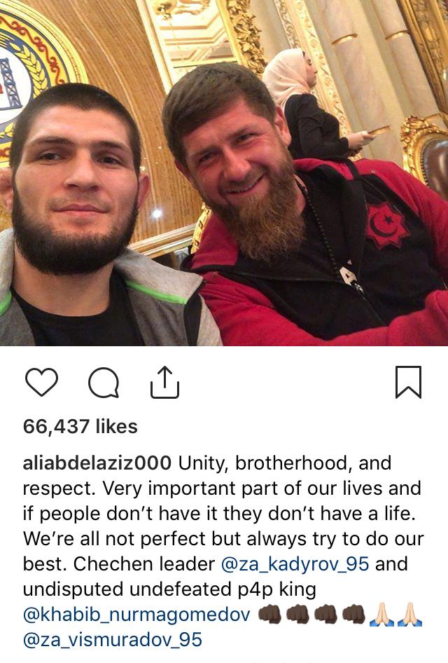 Khabib Chechnya Leader
