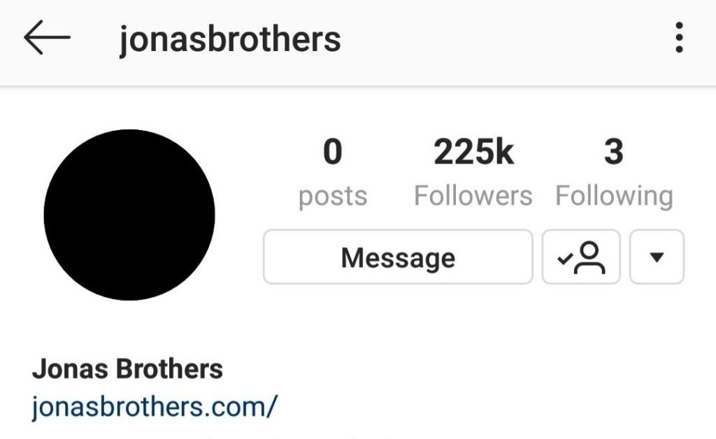Jonas Brothers Blackout IG