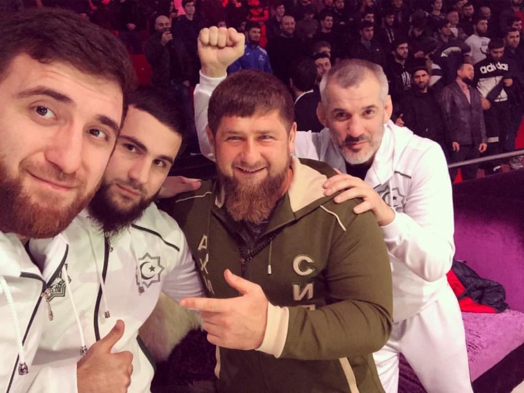 Ruslan Magomedov, Ramzan Kadyrov