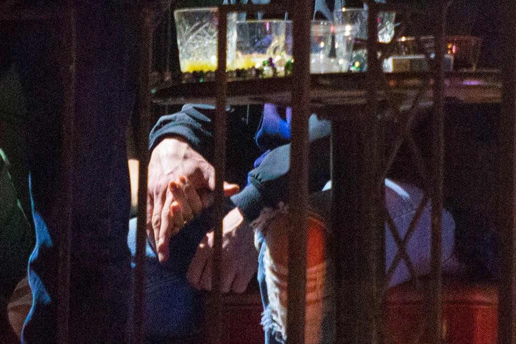 Justin Timberlake Alisha Wainwright  hands