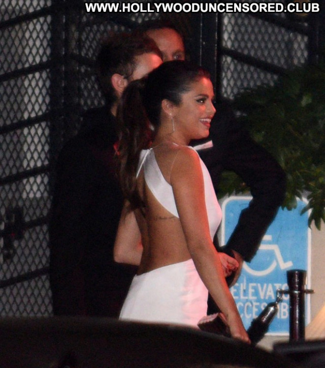 Selena Gomez West Hollywood Beautiful Posing Hot Babe Celebrity