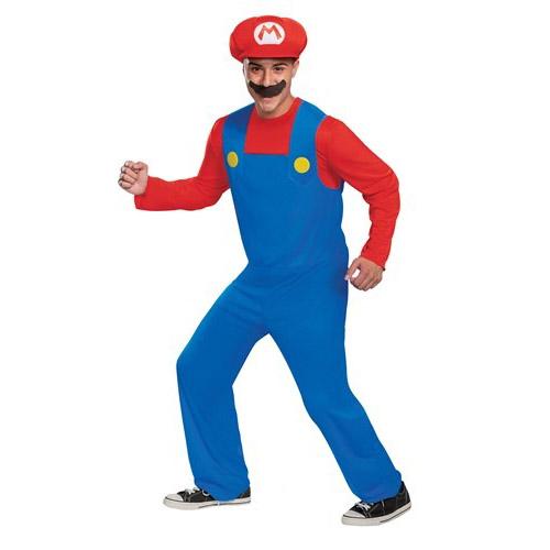 Men's Super Mario Halloween Costume