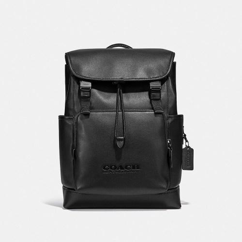 Coach League Flap Backpack
