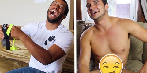Straight guys react to gay underwear