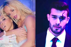 Sam Asghari Britney Spears slumber party