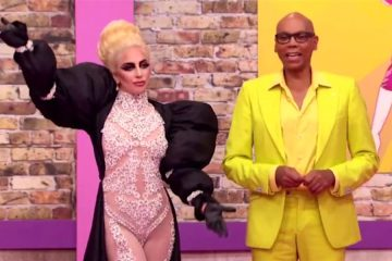 Lady Gaga - RuPaul´s Drag Race Logo TV