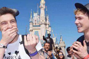 Gregory Gaige - Disney World proposal