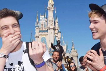 Gregory Gaige - Disney World proposal