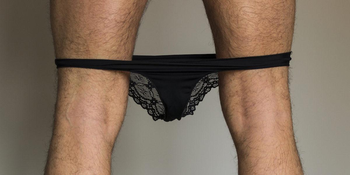 Mengerie - Ist Spitzenunterwäsche der neue Trend für den Mann?