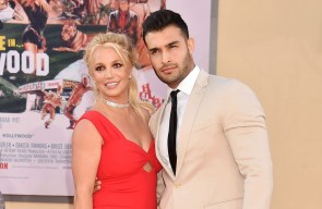 Britney Spears' engagement ring engraved with 'Lioness' tribute