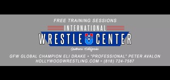 Make Your New Years Resolution to Train at the International WrestleCenter