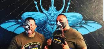 The Tribe Challenges for the United World Tag Titles on Oct 28