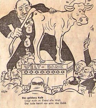 Image result for der sturmer cartoons
