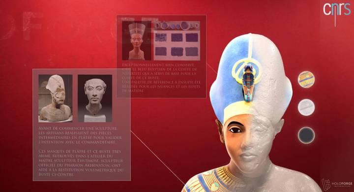 akhenaton 3d hologramme