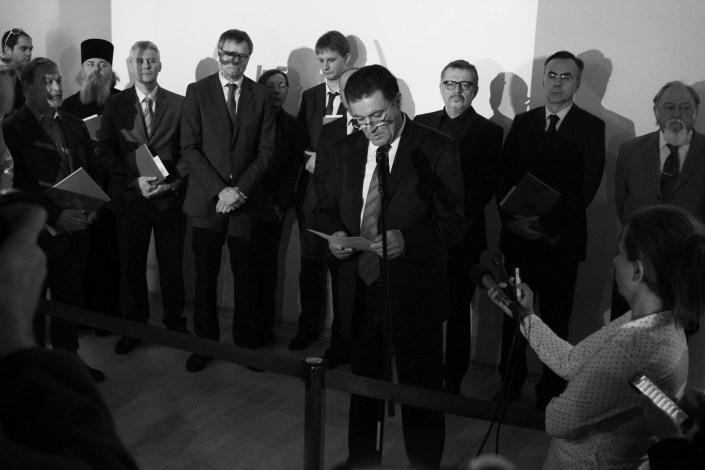 Отварање изложбе Октобар 1941 у Историјском архиву Београда