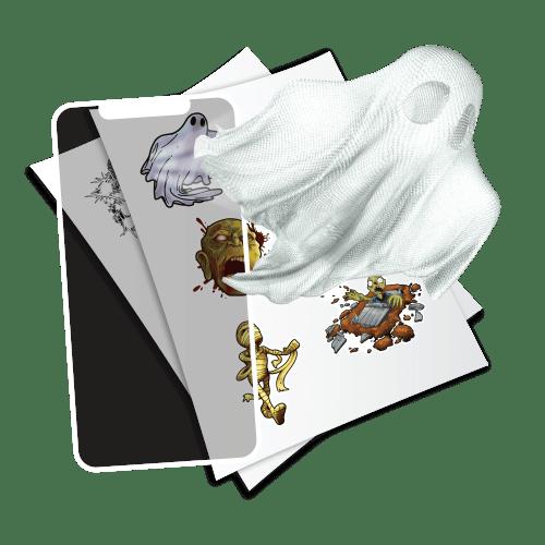 holotoyz-stickers-3d-fantômes-monstres