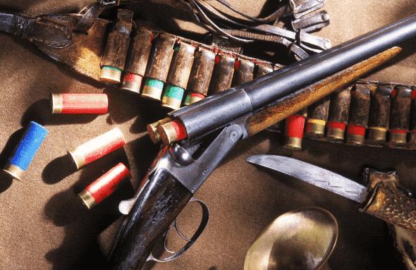 cleaning shotguns