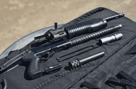 field stripping a shotgun