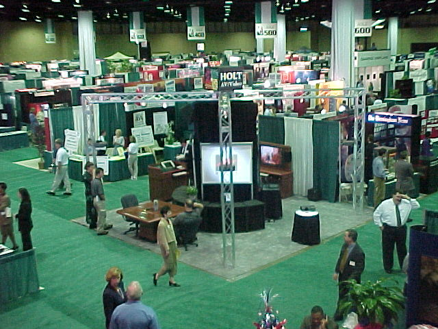 History of Holt - Trade Show Booth 1999