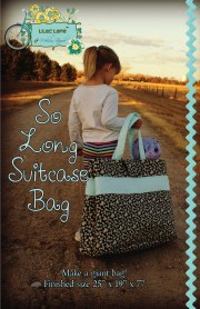 SO LONG SUITCASE COVER