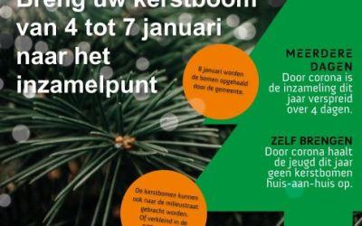 Kerstboom inzameling 2021