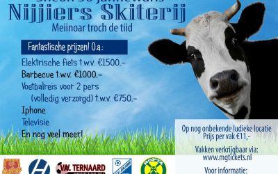 Ropta Boys, Ternaard, Holwerd, Anjum en Oostergo organiseren samen Nijjiers Skiterij