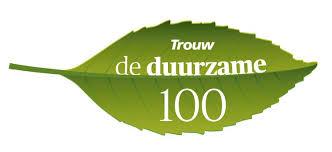 Holwerd aan Zee nummer 13 in de Trouw Duurzame 100