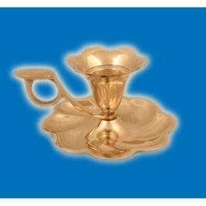 brass candlestand