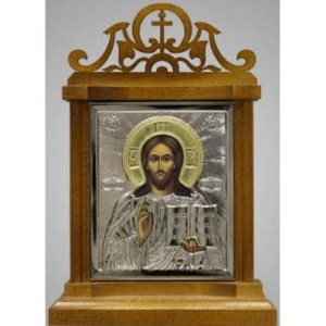 2200023 carved icon stand