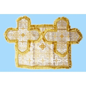Brocade Chalice Cover with Aer