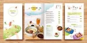 梨子咖啡館 MENU設計 | 厚禮牛設計