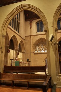 High altar from side
