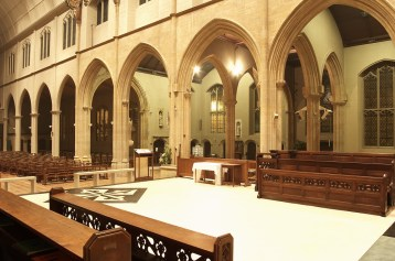 Looking out from the Sacristy 2