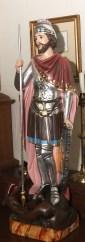 St. George statue